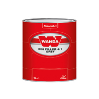 Wanda Грунт-выравниватель 600 Filler 4:1 серый 0,8л.