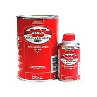 Wanda Грунт-наполнитель 650 Filler HB 5:1 серый (грунт+отв 350) 1л.