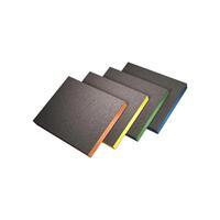 20-7983 Siasponge soft губка двухсторонняя 98*120*13мм medium, р 280, оранжевая