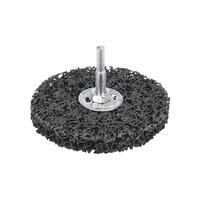 Зачистной круг черный для дрели d 100мм