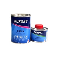 Duxone 2К Грунт-наполнитель DX64G 1 л. + DX20 0.25л . черный