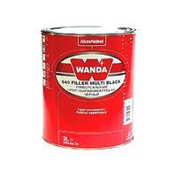 Wanda Универсальный грунт-выравниватель 640 Filler Multi черный 3л.
