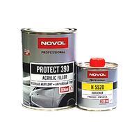NOVOL Грунт акриловый PROTECT 390 4+1 0,8 л + 0,2 л серый