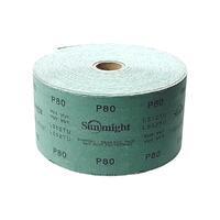 10407 SUNMIGHT Шлиф.материал L312Tв рул.115ммх50 р100 зелен
