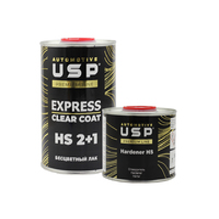 USP Прозрачный лак Premium Express HS 1 л. + 0,5 л.