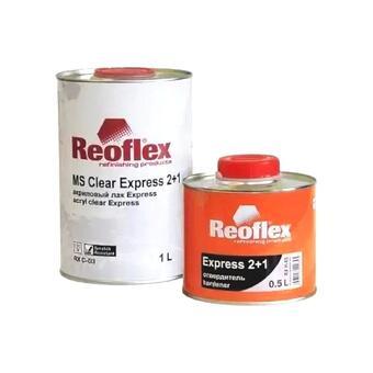 Reoflex Лак Экспресс 2+1 (1л+0,5л)/6