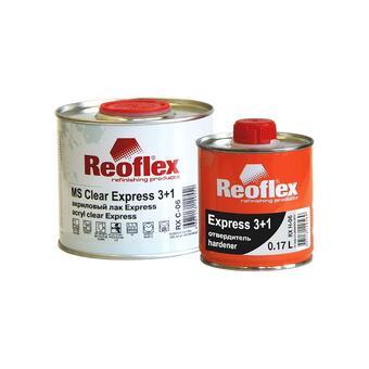 Reoflex Лак Экспресс 3+1 (0,5л+0,167л)/6