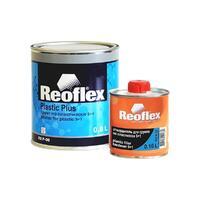 Reoflex Грунт-выравниватель по пласт. 5+1 сер. 0,8л+0,16л