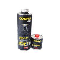 NOVOL Защитное покрытие повышенной прочности COBRA 0,6л+0,2л черный