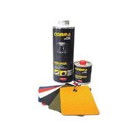 NOVOL Защитное покрытие повышенной прочности COBRA 0,6л+0,2л колеруемое
