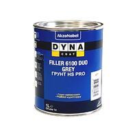 Dynacoat Грунт HS PRO Filler 6100 DUO Серый 1 л (мокрый по мокрому, на катафарез)